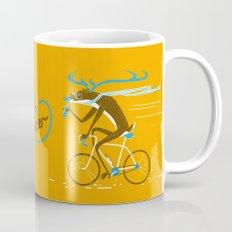 Easy Rider // (cycling hipster deer) Mug