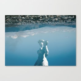 Strong and Simple Canvas Print