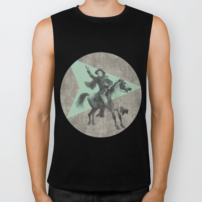The Messenger Biker Tank