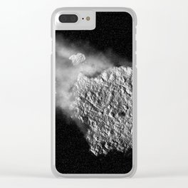 ASTEROID Clear iPhone Case