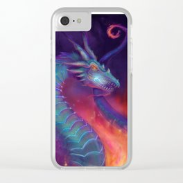 Lightning Dragon Clear iPhone Case