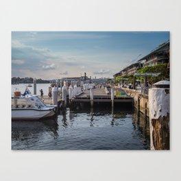 Darling Harbour Wharf Canvas Print