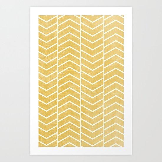 Yellow Chevron by zeketucker