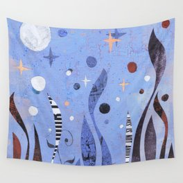 BLUE UNTITLED Wall Tapestry