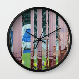 Leicester U Wall Clock