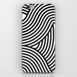 Moving lines iPhone Skin