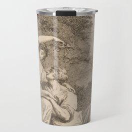 Armida Crowning Rinaldo with Flowers, 1771 Travel Mug
