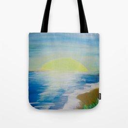 Seashore Sunset Tote Bag