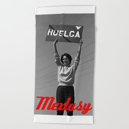 Chicana Activist Hall of Fame Beach Towel