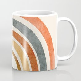 Abstract Rainbow 88 Coffee Mug