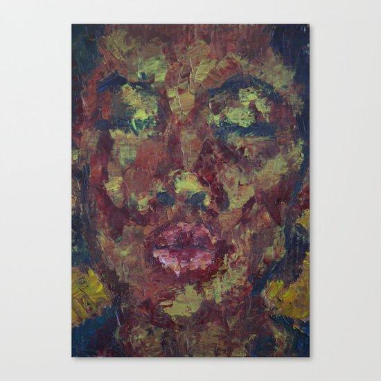 A KISS Canvas Print