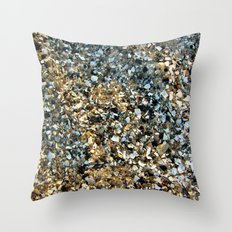 Beach Shell Sand Throw Pillow