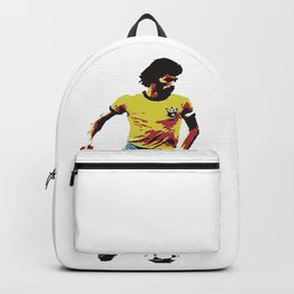 Socrates, Brazilian soccer superman Backpack