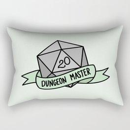 Dungeon Master D20 Rectangular Pillow