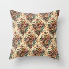 ANTIQUE BOUQUET Throw Pillow