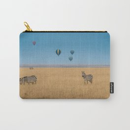 Zebras and baloons Carry-All Pouch