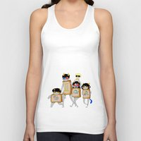 homestuck Tank Tops featuring Homestuck: The Boxtrolls by Techno Cide