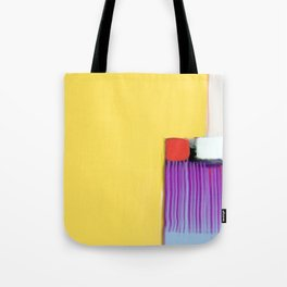 Blue Strings Tote Bag