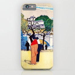 Koizumi Kishio - New Year's Double Bridge - Digital Remastered Edition iPhone Case
