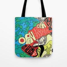 Animal Collective Tote Bag