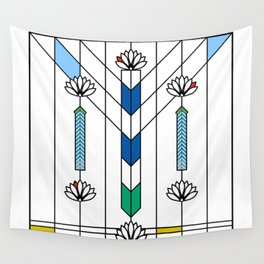 Waterlilies and Ennis Wall Tapestry