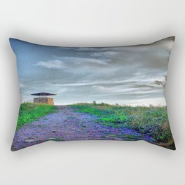 Purple Mountain Majesties Rectangular Pillow
