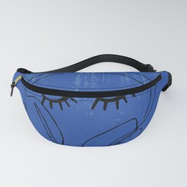 Lines,music element for listening songs and playlist. Fanny Pack