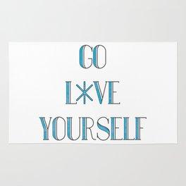 Go Love Yourself Rug