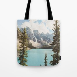 Moraine Lake II Banff National Park Tote Bag