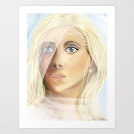The Waiting Bride Art Print