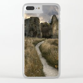 Forgotten castle in Estonia Clear iPhone Case