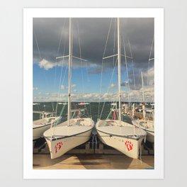 Lakefront Art Print