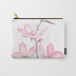 pink cherry blossom macro 2018 Carry-All Pouch
