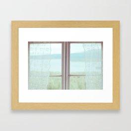 Window Dreams Framed Art Print