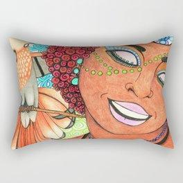 Trinidad & Tobago Color Rectangular Pillow
