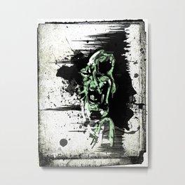 Sanity Escapes Me Metal Print