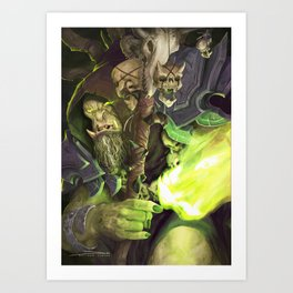 The Great Betrayer Art Print