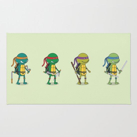 Teenage Mutant Ninja Turtles Rug