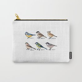 Birdwatching & Tit Bird Ornithology Gift Carry-All Pouch