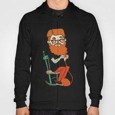 Wool beard Hoody