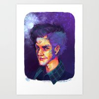potter Art Prints featuring Potter! by Maddy