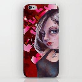 The Goth, Hearts iPhone Skin