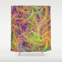 holographic Shower Curtains featuring Blend Everywhere by Danny Ivan