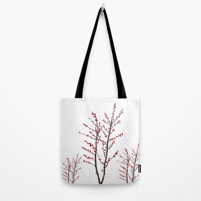 red beans branch Tote Bag