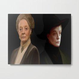 Minerva McGonagall Metal Print