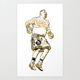 ANDY RUIZ Art Print