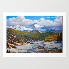 Culebra Peak Art Print