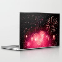 fireworks Laptop & iPad Skins featuring Fireworks by Loaded Light Photography