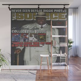 The Source Issue #207 (February 2007) The Notorious B.I.G. Wall Mural
