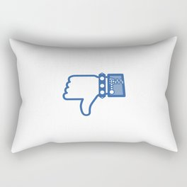 Dislike Rectangular Pillow